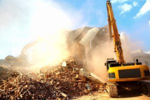 Demolition job for residential and commercial properties